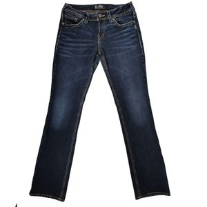 Silver Jeans Suki Mid Rise Baby Boot Cut W28/L31